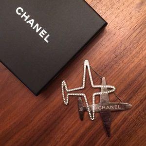 Chanel Airplane Brooch